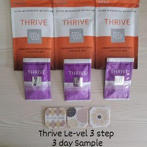 Thrive Le-vel 3 steps